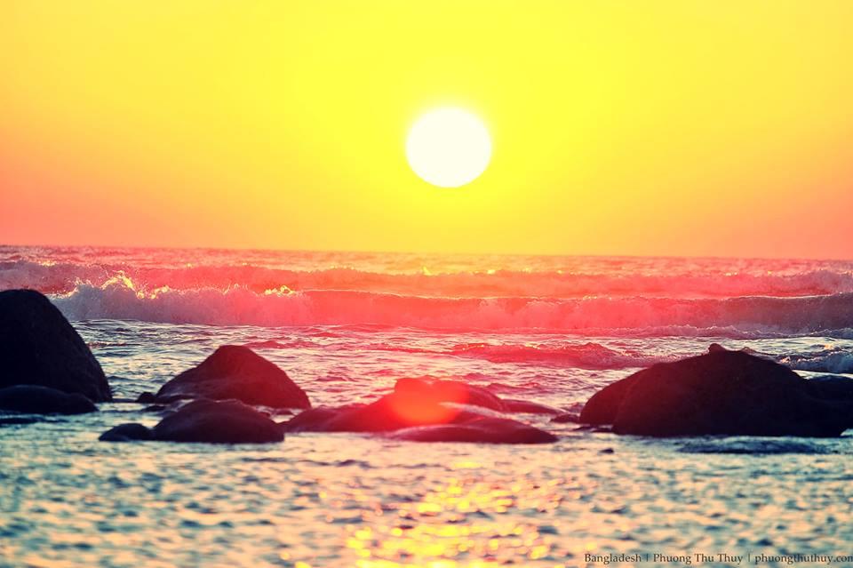 Bãi biển dài nhất thế giới Cox's Bazar, Bangladesh